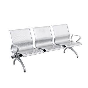 新品上市 现代简约排椅 机场椅电镀银行等候椅 厂家热销C03