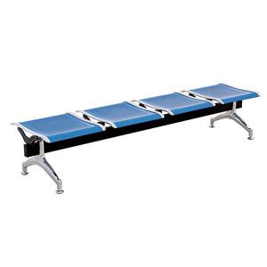 批发定制不锈钢平椅 不锈钢连排座椅 车站机场等候椅三人位等候椅