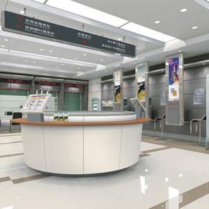 成都6up扑克之星充值家具生产配套中国工商银行办公家具营业厅大堂经理台