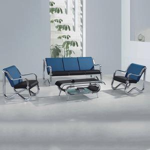 厂家专业生产优质沙发椅休闲皮艺沙发 简约皮艺沙发椅三人位座椅