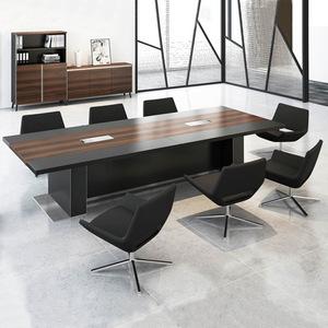 6up扑克之星充值厂家批发家具办公桌,专业配套办公会议桌HY-0836A#