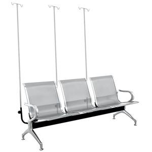 厂家定制 输液椅点滴椅门诊输液椅 医院候诊椅点滴三人排椅DA064