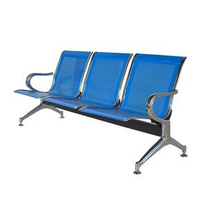 新品热销 优质不锈钢3人位连排椅 医院候诊椅 银行机场等候椅排椅