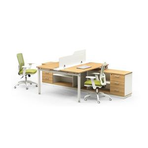 6up扑克之星充值厂家批发耐用简约办公家具,两人位1314-2F组合职员办公桌