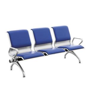 新品上市三人位连排椅 医院候诊椅火车站银行机场椅C03P