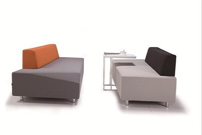 休闲现代简约会客接待休息区异形创意沙发