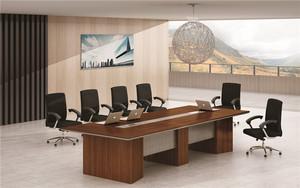 办公家具大型会议桌 长条桌 简约现代办公桌椅组合 板式长方形培训桌