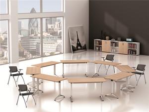 大型会议桌长桌-简约现代会议室桌