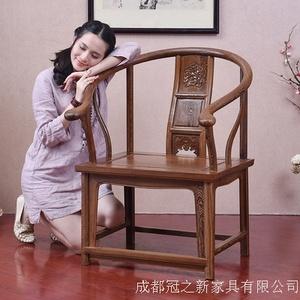 北欧餐桌椅组合-白橡木胡桃木色-日式简约现代实木-小户型原木色家具