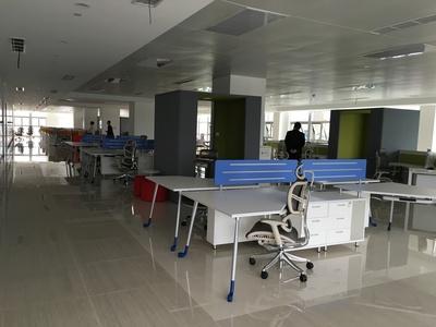 职员办公桌-简约现代办公家具电脑桌-246人位办工桌椅-组合屏风卡座