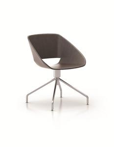 办公家具现代时尚简约皮艺会议椅子会客洽谈职员办公椅