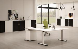 职员办公桌-双人4人位屏风办工桌简约现代-成都办公家具